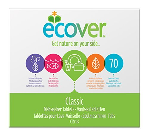 ecover spuelmaschinen tabs xl pack 1 x 70 tabs - Ecover Spülmaschinen-Tabs XL Pack (1 x 70 Tabs)